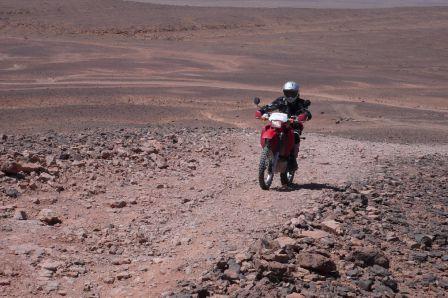 montée vers l'Algérie