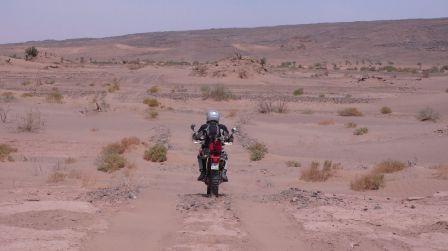 approche de Tagounite par piste interdite